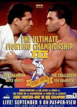 UFC 3: Promoted around Gracie and Shamrock