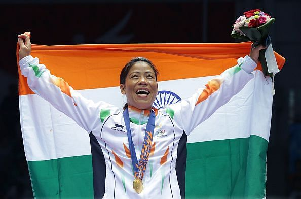 Mary Kom - the Pride of India