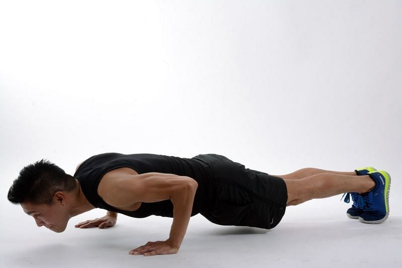 Planks tone the abdominal muscles in an isometric fashion