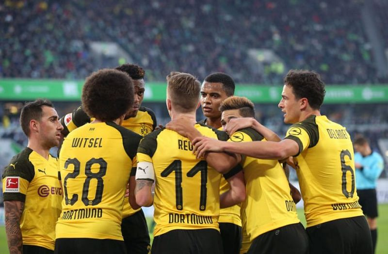 Borussia Dortmund are one of the five teams in this article