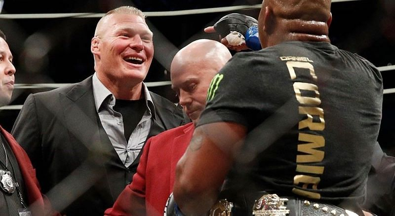 Brock Lesnar continues leveraging WWE and UFC against each other
