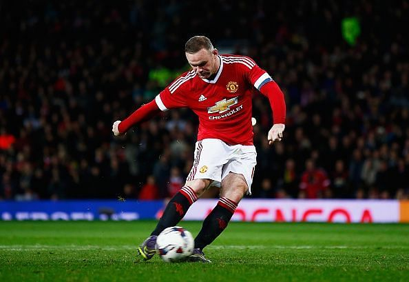 Rooney moved to Everton after 13 seasons with Manchester United last year