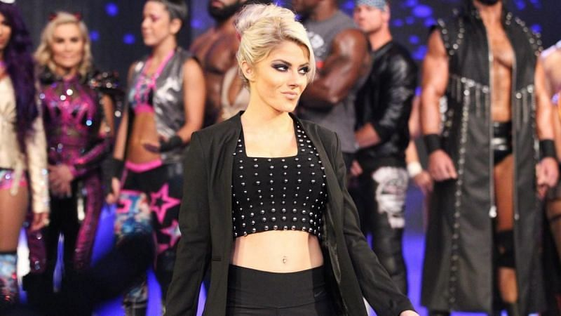 Alexa Bliss debuted a new look, this week!