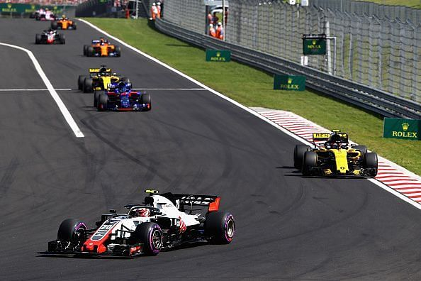 It was really tight in the midfield, like here at the Hungarian Grand Prix.