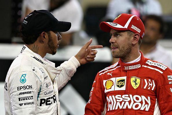 Lewis Hamilton and Mercedes shot down Ferrari