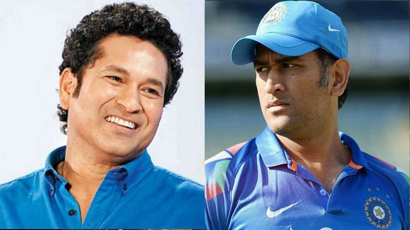 MS Dhoni and Sachin Tendulkar feature on this list