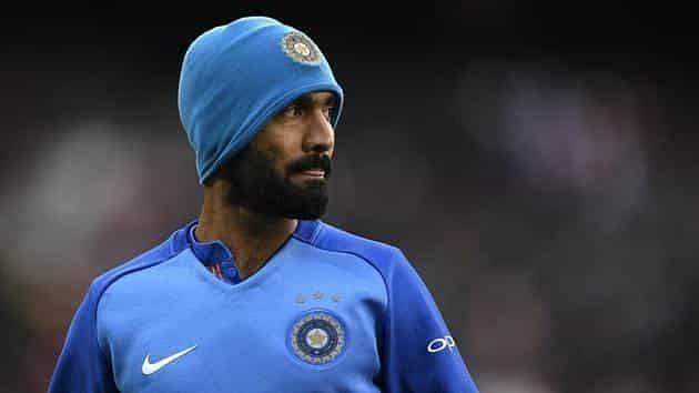 Dinesh karthik struggled to find a place in Indian cricket