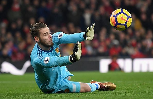 De Gea once again saved Manchester United