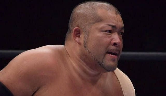 Ishii is a vicious wrestler who hits hard and can take an inhuman amount of punishment