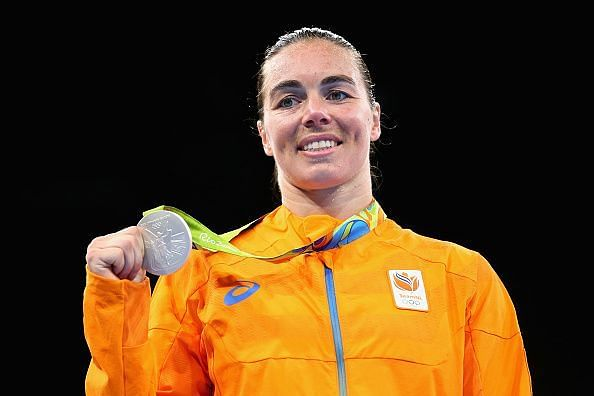 World number one and 2016 Olympic and World Silver medalist Nouchka Mireille Fontijn of Netherlands