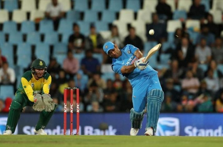 Dhoni finishes of his style