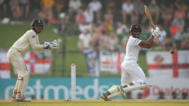 Sri Lanka batsman Roshen Silva