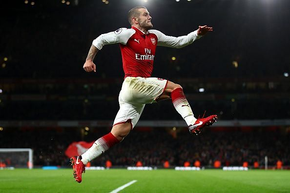 Wilshere left Arsenal this summer after 10 years with the club.