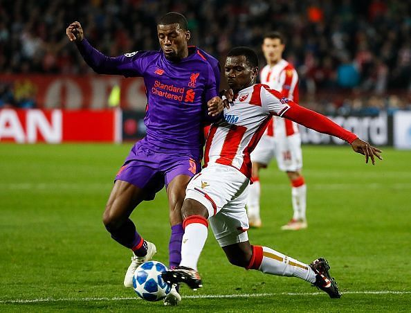 Wijnaldum was at fault for the second goal