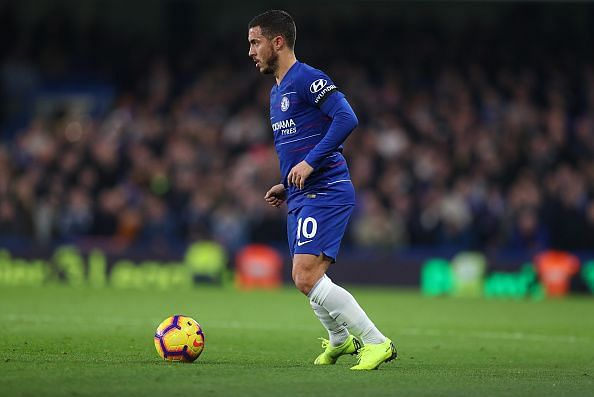 Hazard is back after an injury layoff