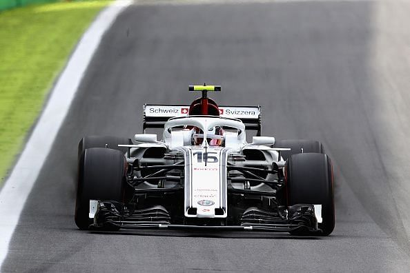 Charles Leclerc claimed the seventh spot at the Brazilian Grand Prix