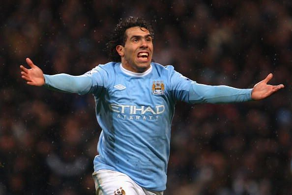 Tevez made the move to City in 2009
