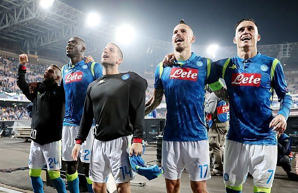 A victory will almost guarantee passage to the knockout stages for SSC Napoli