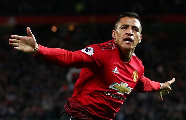 Alexis Sanchez has been given the No.7 jersey by Mourinho at Manchester United