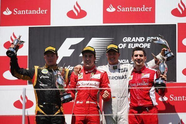 Nobody gave Fernando Alonso a chance