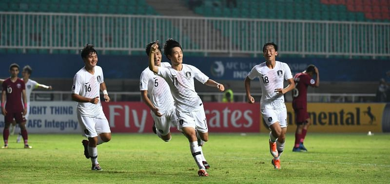 South Korea jubilant after booking a place in the finals