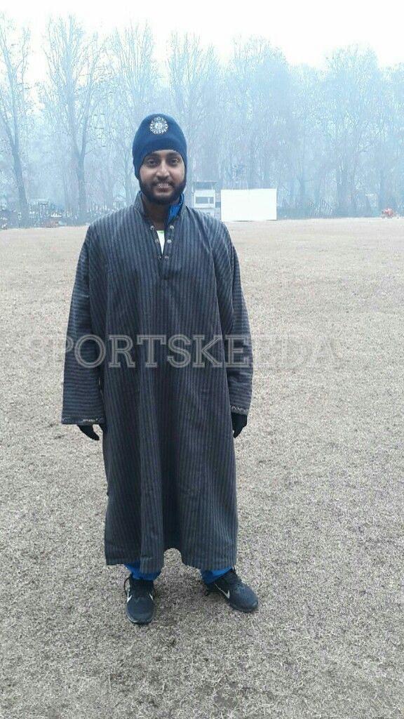 Harmeet Singh wearing