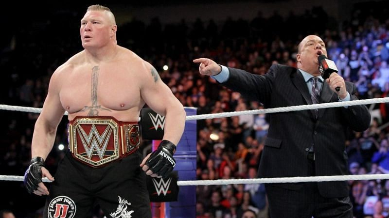 Not Even Paul Heyman Can Save Brock From Some Fans!