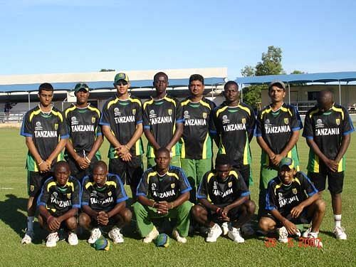 The East African team consisted of the players from many African nations