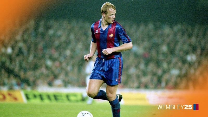 Ronald Koeman was brilliant with his free-kicks and scored a lot of goals from set pieces