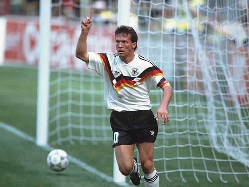Lothar Matthaus was incredibly versatile as a footballer