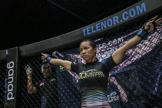 Priscilla HertatiLumban Gaol earned a big win at ONE: Warrior
