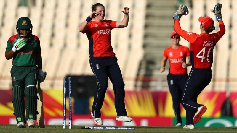 England women beat Bangladesh