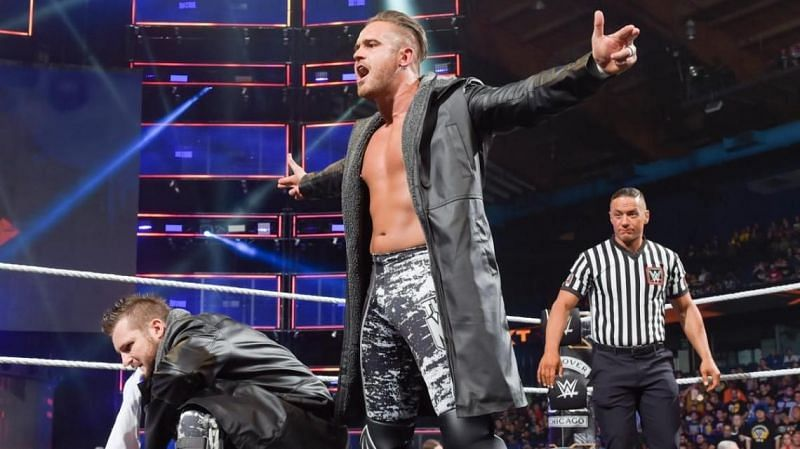 Nick Miller was released from WWE yesterday