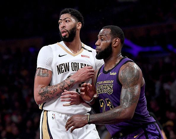 LeBron James and Anthony Davis are having great statistical seasons