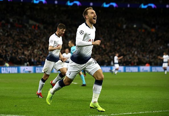 Eriksen has been on fire for the Spurs of late