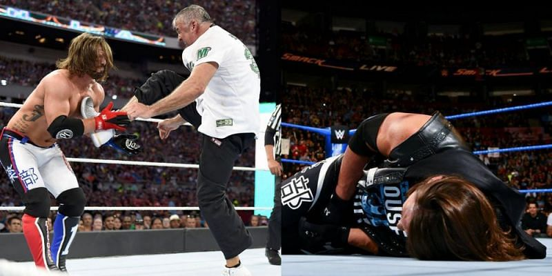 AJ Styles has found himself being battered in one particular region of his body recently