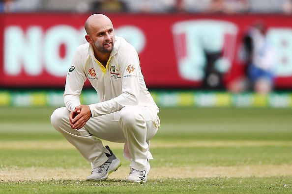 Nathan Lyon ended the innings with figures of 1 for 110