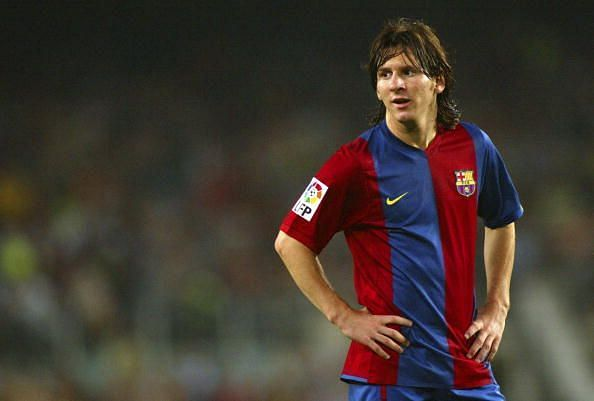 Messi was the Golden Boy in 2005