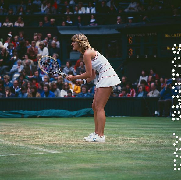 Chris Evert Lloyd - the first player to be ranked WTA Number 1 when the rankings were introduced in 1975