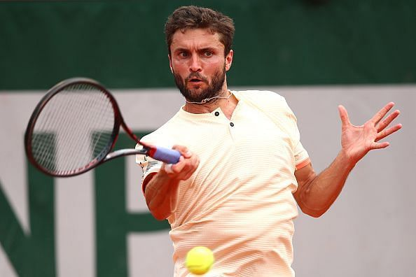 Gilles Simon is the defending champion
