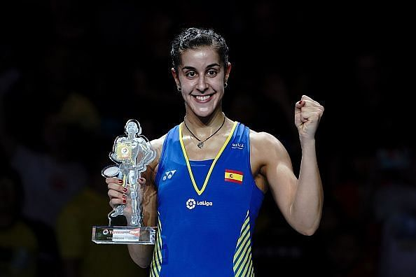 Carolina Marin seemed to be at her best during the World Championship this year