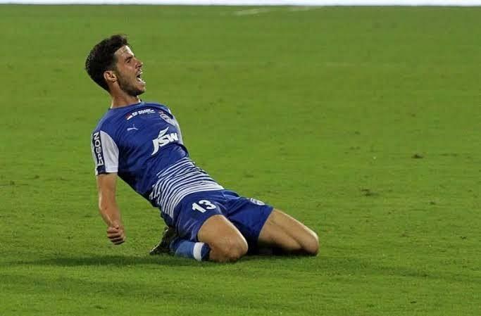 Edu Garcia struck two goals for Bengaluru FC in the 2017-18 ISL season
