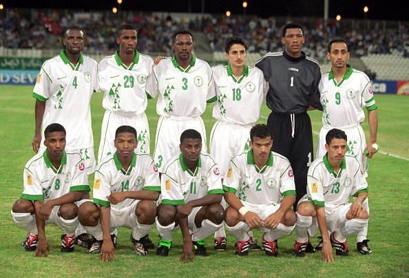 Saudi Arabia team group photo