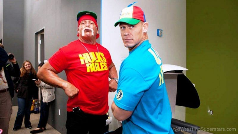 Hogan and Cena are renowned for being backstage politicians