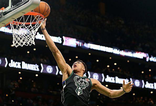 The Greek Freak is taking the NBA by storm