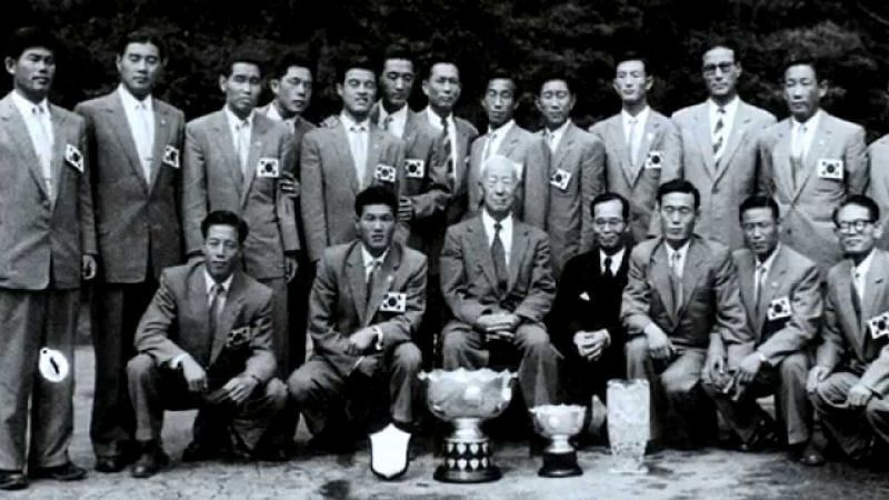 South Korea- AFC Asian Cup winners 1960