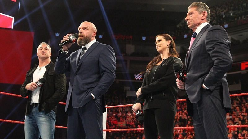 Triple H is currently the COO of WWE