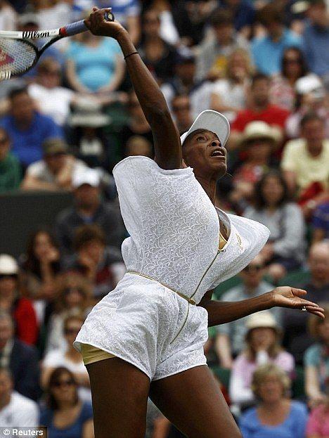 Venus Williams in a Zip up Onesie