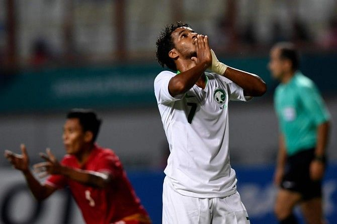 Ghareeb made his international debut against Brazil in October