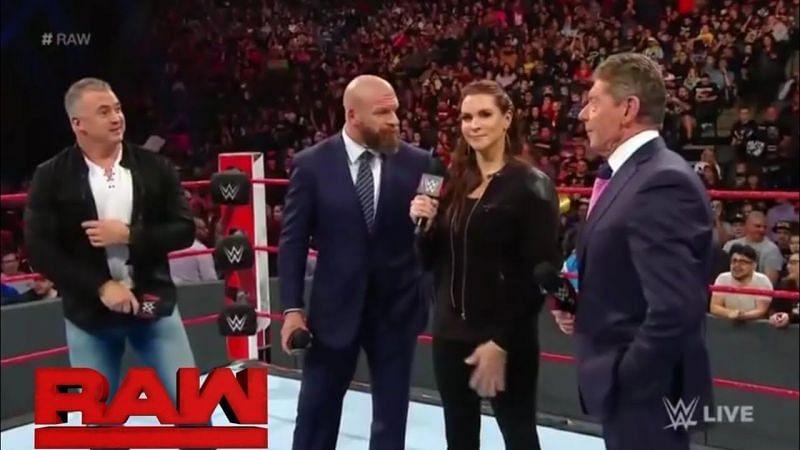 The McMahon family
